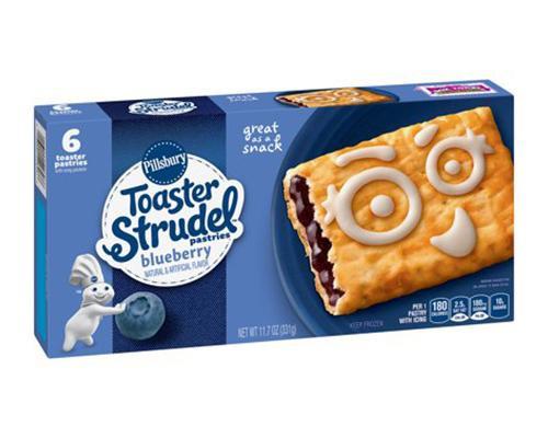 Pillsbury Toaster Strudel Blueberry - 6 ct • 11.7 oz