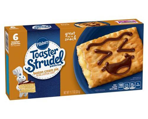Pillsbury Toaster Strudel Boston Cream Pie - 6 ct • 11.7 oz