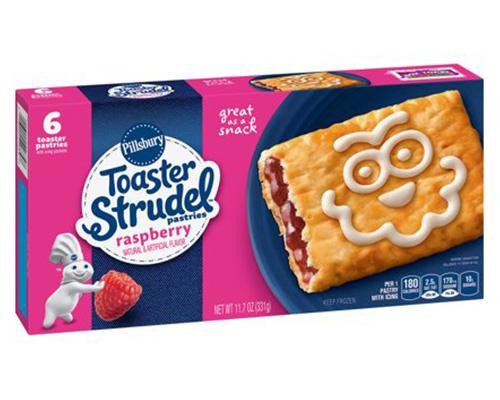 Pillsbury Toaster Strudel Raspberry - 6 ct • 11.7 oz