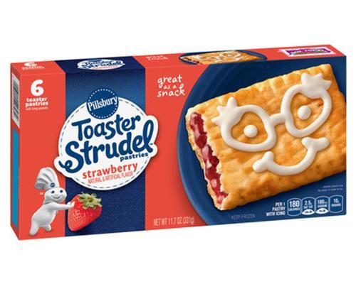 Pillsbury Toaster Strudel Strawberry - 6 ct • 11.7 oz