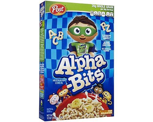 Post Alpha Bits • 12 oz