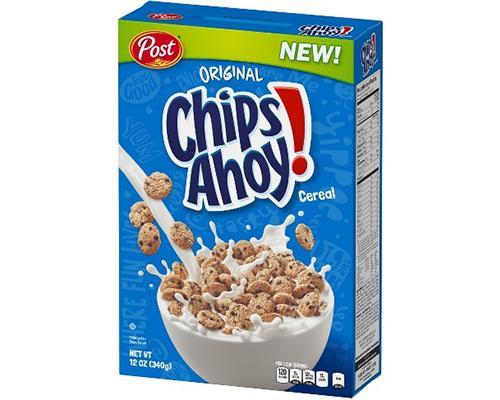 Post Chips Ahoy Cereal • 12 oz