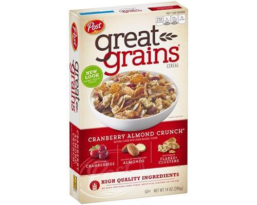 Post Cranberry Almonds Crunch • 16 oz