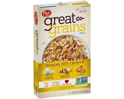 Post Great Grains Banana Nut Crunch  • 15.5 oz
