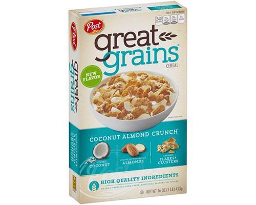 Post Great Grains Coconut Almond Crunch • 16 oz