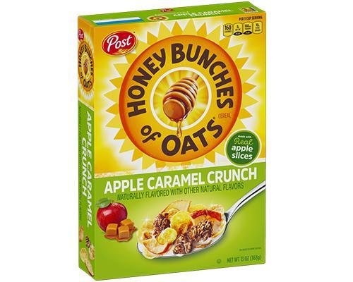 Post Honey Bunches Of Oats Apple Caramel Crunch • 13 oz