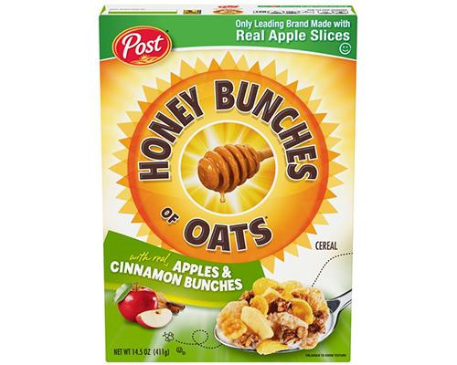 Post Honey Bunches of Oats Apples & Cinnamon Bunches • 14.5 oz