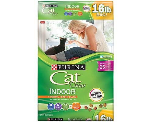 Purina Cat Chow Indoor Immune Health Blend • 16 lb