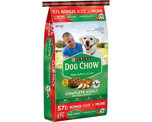 Purina Dog Chow Complete Adult with Real Chicken • 57 lb