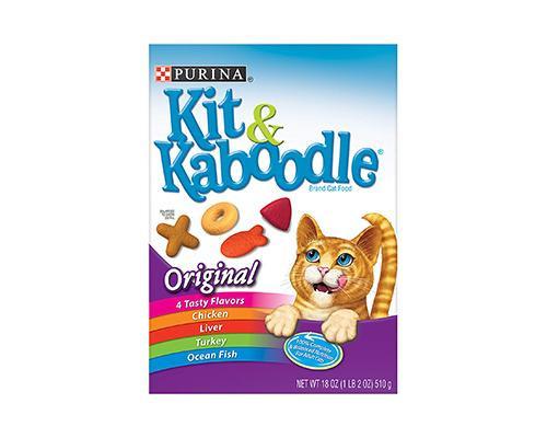 Purina Kit & Kaboodle Original Cat Food • 18 oz