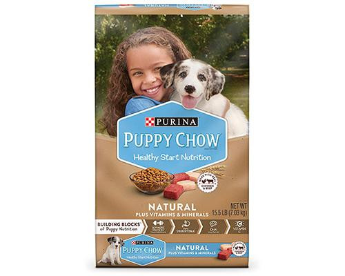 Purina Puppy Chow Natural Chicken • 15.5 lb