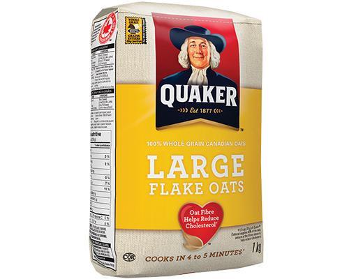 Quaker Oats Large Flakes • 900 g