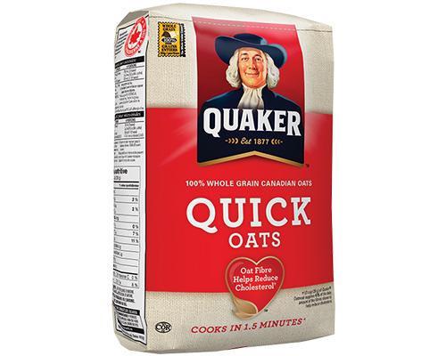 Quaker Oats Quick • 2.25 kg
