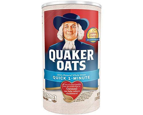 Quaker Oats Quick One Minute • 18 oz
