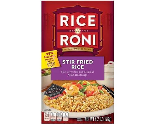 Rice A Roni Stir Fry • 6.2 oz