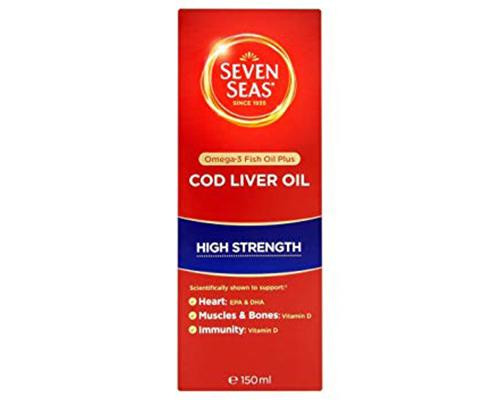 Seven Seas Cod Liver Oil High Strength • 150 ml