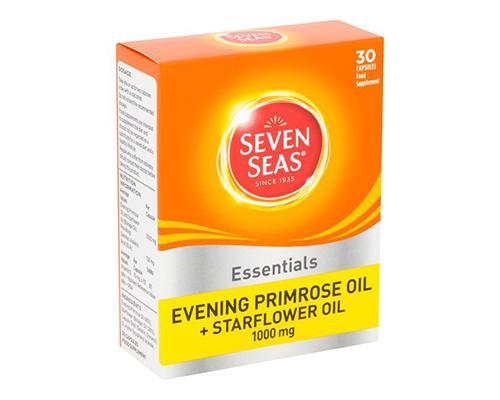 Seven Seas Essentials Evening Primrose Oil + Starflower Oil • 1000 ml