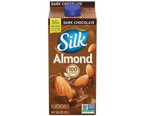 Silk Dark Chocolate Almond Milk • 64 oz