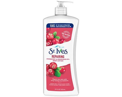 St.Ives Cranberry & Grapeseed Body Lotion • 21 oz