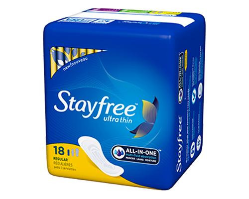 Stayfree All in One Ultra Thin - 18 ct