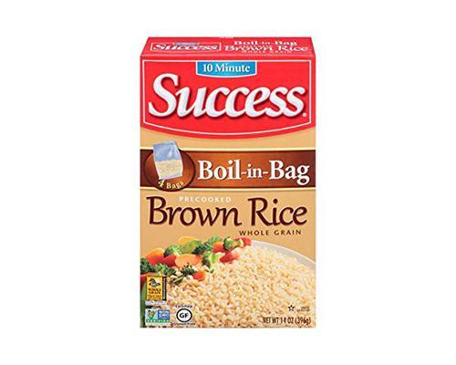 Success Boil in Bag Brown Rice • 14 oz