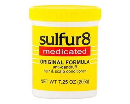 Sulfur 8 Medicated Anti-Dandruff Original Formula • 7.25 oz