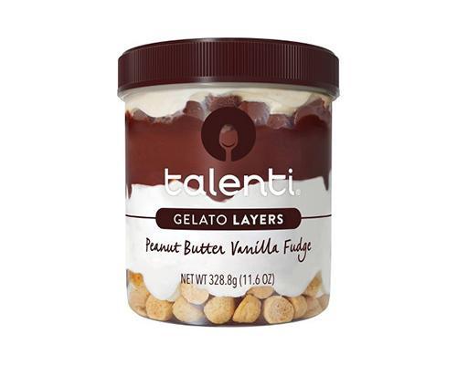 Talenti Gelato Layers Peanut Butter Vanilla Fudge • 11.6 oz