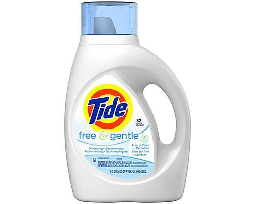 Tide Liquid Detergent Free & Gentle • 50 oz