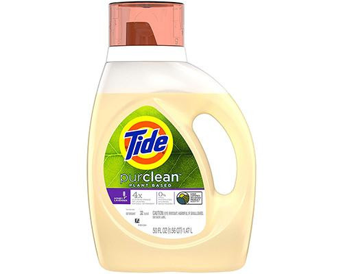 Tide Liquid Detergent PurClean - Plant Based • 50 oz
