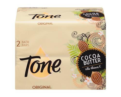 Tone Soap Cocoa Butter Original - 2 ct • 4.25 oz