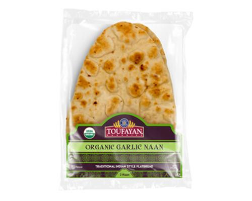 Toufayan Organic Naan - 2 ct • 9 oz