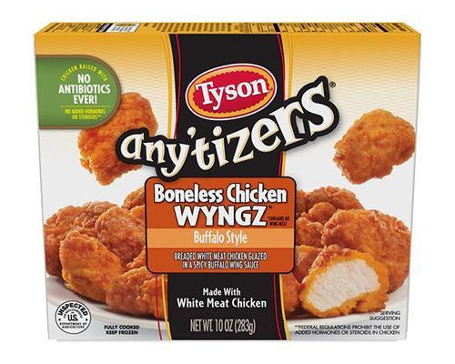 Tyson Anytizers Boneless Chicken Bites Buffalo Style • 10 oz