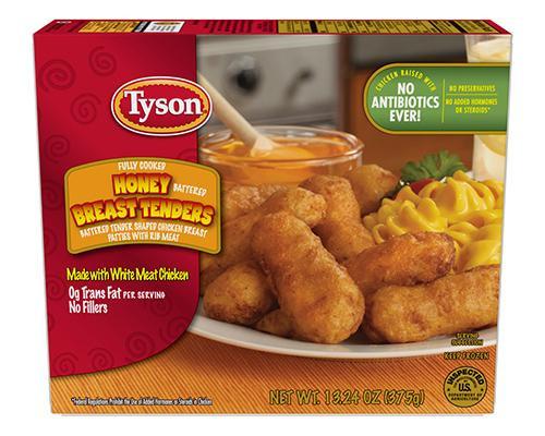 Tyson Honey Battered Breast Tenders • 13 oz