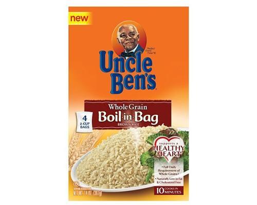 Uncle Ben's Natural Whole Grain (Boil in Bag) Brown Rice • 14 oz