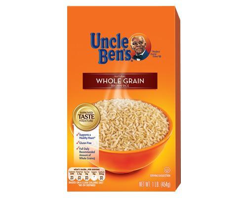 Uncle Ben's Whole Grain Brown Rice - Box • 1 lb