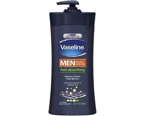 Vaseline Men Healing Moisture Body & Face Lotion • 20.3 oz