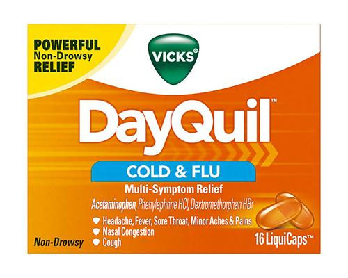 Vicks DayQuil Cold & Flu 16 LiquiCaps