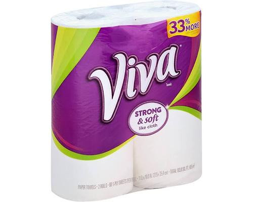 Viva Strong & Soft Paper Towel - 2 ct