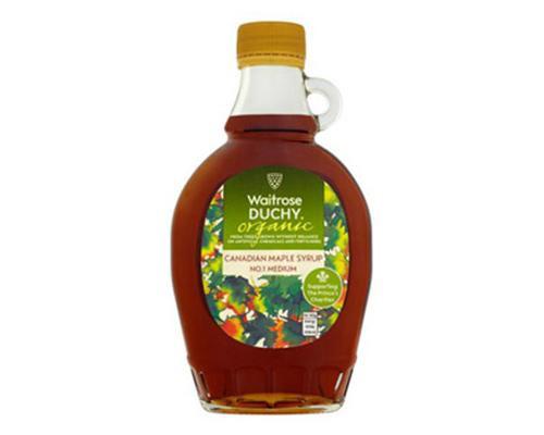 Waitrose Duchy Organic Maple Syrup-Medium • 330 g