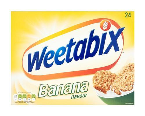 Weetabix Whole Grain Cereal Banana • 500 g