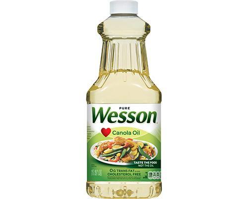 Wesson Canola Oil • 48 oz