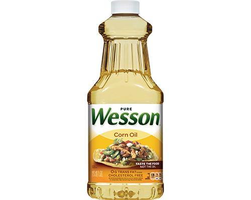 Wesson Corn Oil • 48 oz