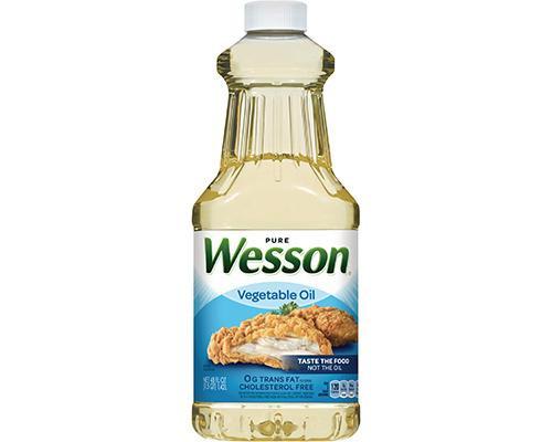Wesson Vegetable Oil • 48 oz