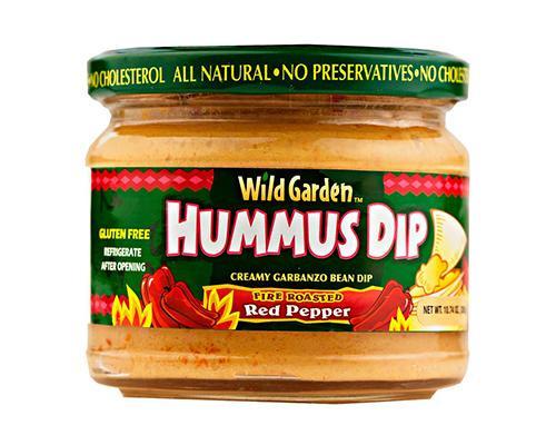Wild Garden Hummus Dip Red Pepper • 10.74 oz