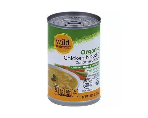 Wild Harvest Organic Chicken Noodle Condensed Soup • 10.5 oz