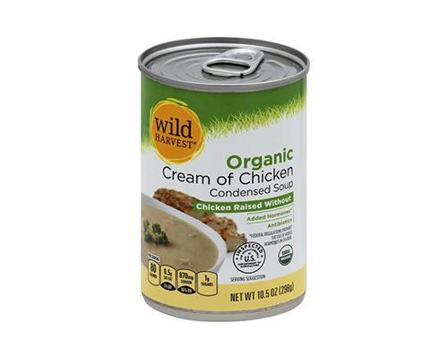 Wild Harvest Organic Cream Of Chicken Condensed Soup • 10.5 oz