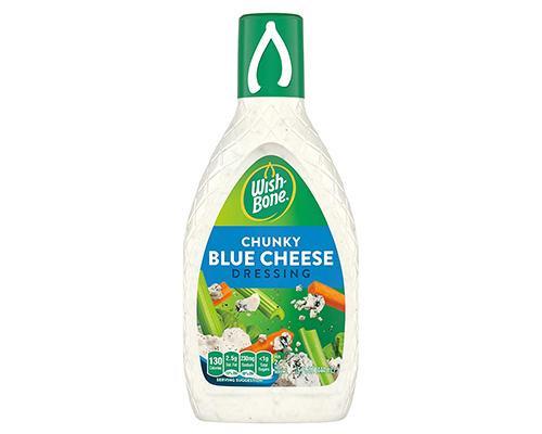 Wishbone Chunky Blue Cheese Dressing • 15 oz
