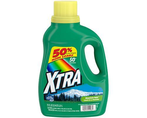 Xtra Liquid Detergent Mountain Rain • 75 oz