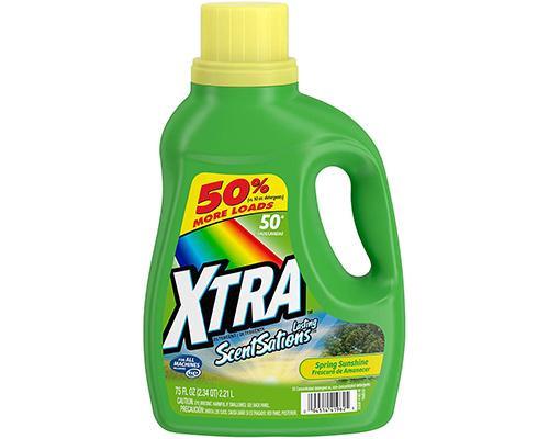 Xtra Liquid Detergent Spring Sunshine • 75 oz