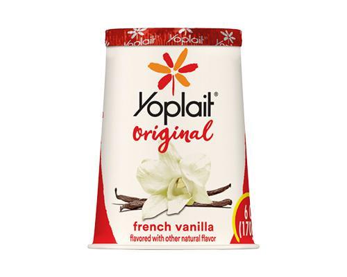Yoplait Yogurt French Vanilla • 6 oz